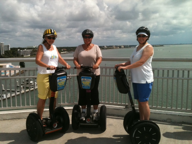 Girls weekend on Segway trip 6/27/11